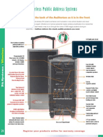 Wireless Public Address Systems_Brochure
