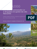 Information Communication Gestion Natura2000