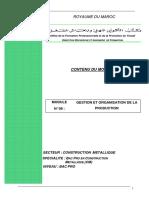 Bac Pro M08_Gestion et Organisation de production (1)