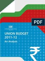 Union Budget Analysis 2011-2012
