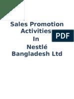 Nestle Sales Promotion