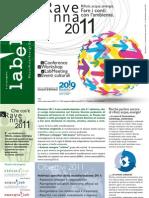 Ravenna2011 - Newsletter #1 aprile 2011 in italiano