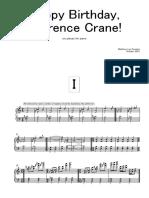 Happy Birthday, Laurence Crane!