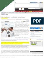 If It's Blackmail, I'Ll Do It Again- Anna Hazare-ToI--04-2011