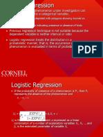 Regression Algorithm