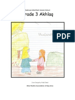 Grade 3 - Akhlaq Book
