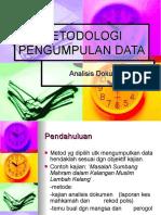 is Dokumen Metodologi Pengumpulan Data