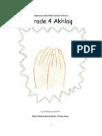 Grade 4 - Akhlaq Book