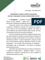 Discurso Apedema Cintia Barenho Na AL-RS Debates Com MMA Em 19.04.11