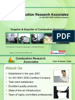 Combustion Research Associates Uttar Pradesh India