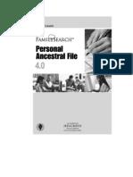 Manual de PAF 4 Español