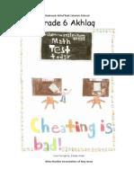 Grade 6 - Akhlaq Book