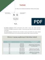 Tlenki i wodorotlenki
