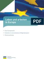 Leben Und Arbeiten in Europa