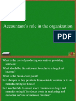 Accountants Role