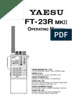 Yaesu Ft 23r Mk2 Op Manual