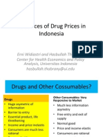 Evidence of Drug Prices in Indonesia
