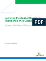 Lowering the Cost of Business Intelligence With Open Source
