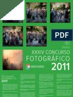 XXXIV CONCURSO FOTOGRÁFICO 2011