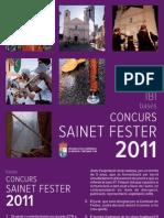CONCURS SAINET FESTER 2011