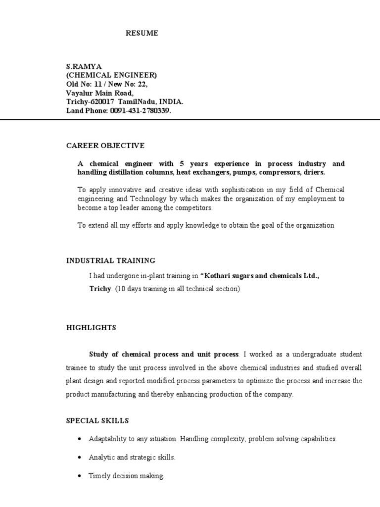 Resume Distillation Chemistry Free 30 Day Trial Scribd
