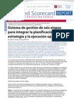 BSC - HBSP - Kaplan - Sistema de Gestion de Seis Etapas Para Integrar