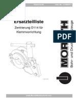 2100037-1  Zentrierung D114 f__r Klemmvorrichtung
