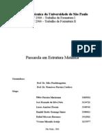 Relatório do Trabalho de Formatura