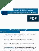 Tema 5 Mercado cambiario a plazo