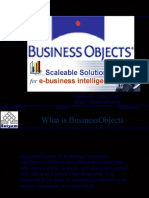 Business Objects Design Architecture 1