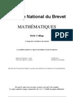 brevet maths