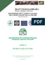 Recensement de l'agriculture (RA) pour la campagne agricole 2004-2005 - Tome VI