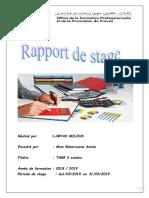 Rapport Miloud Labyad