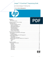 HP Service Manager 7 Javascript HP