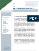 Encuesta sobre la inseguridad ciudadana en Lima, Peru (agosto 2008)