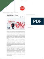 Karl Marx Vive — La Jornada - Semanal