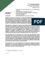 Nº 066-2019-SDC-INDECOPI - De Oficio vs. Gloria s.a. Escolar
