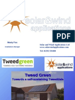 Tweedgreen - Solar and Wind Applications