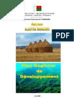 Plan Régionale de développement - Alaotra Mangoro (Région Alaotra Mangoro - 2005)