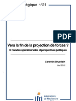 Vers la fin de la projection de forces ? La menace du déni d'accès (I)