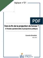 Vers la fin de la projection des forces ? Parades opérationnelles et perspectives politiques (II)