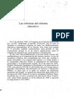 BERNETTI -Puiggros las reformas del sist educativo