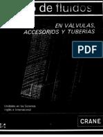 Crane Flujo de Fluidos en Valvulas Accesorios y Tuberias
