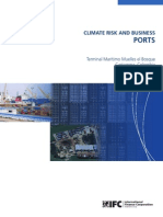 Climate Risk and Business: Ports