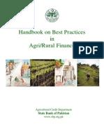 Handbook Best Practices Agri Rural Finance