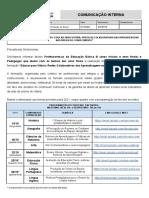 CI GFDE 148 - TERCEIRO ENCONTRO FORMAÇÃO