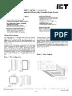 Ict Peel18cv8 Data Sheet v2