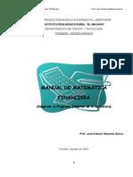 Problem a Rio de Matemtica Financier A 25[1]