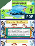 3°- 4°PPT SESIÓN 6- EXP.7- MATEMATICA-URBANO