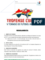 Regulamento Trofense Cup 2011
